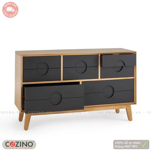 Tủ ngăn kéo 2 tầng 8 ngăn Spot gỗ sồi Mỹ- đẹp, giá rẻ tại hcm và hà nội