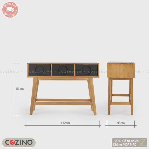 Bàn Consol Spot gỗ sồi- đẹp, giá rẻ tại hcm và hà nội