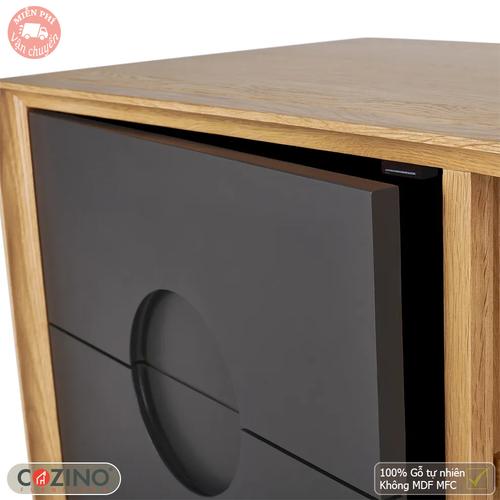 Tủ sách thấp Spot gỗ sồi- đẹp, giá rẻ tại hcm và hà nội