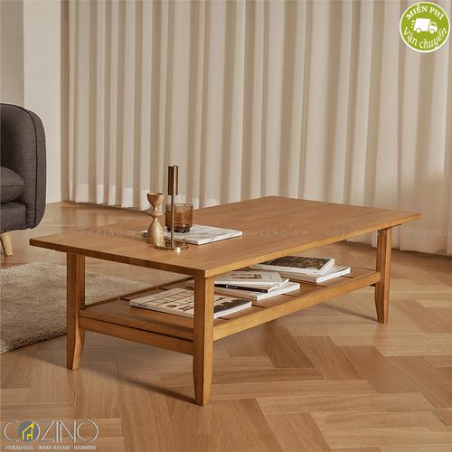 Bàn sofa Iris gỗ cao su- đẹp, giá rẻ tại hcm và hà nội