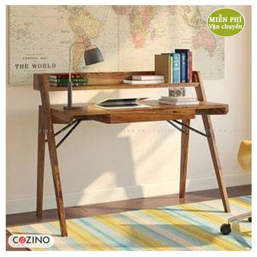 Bàn học, bàn làm việc gỗ sồi CZN11- đẹp, giá rẻ tại hcm và hà nội