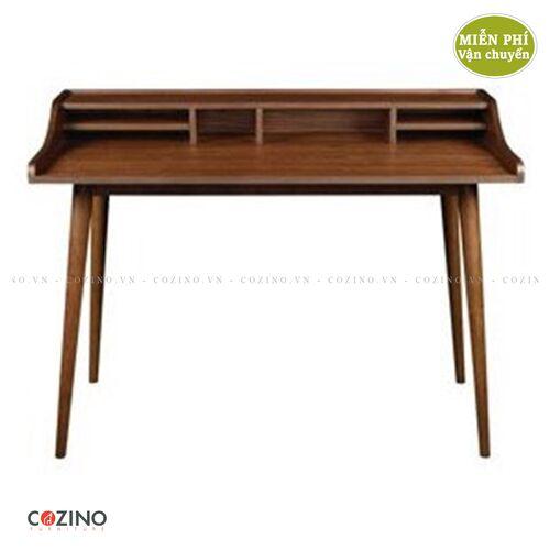 Bàn học, bàn làm việc gỗ sồi CZN14- đẹp, giá rẻ tại hcm và hà nội