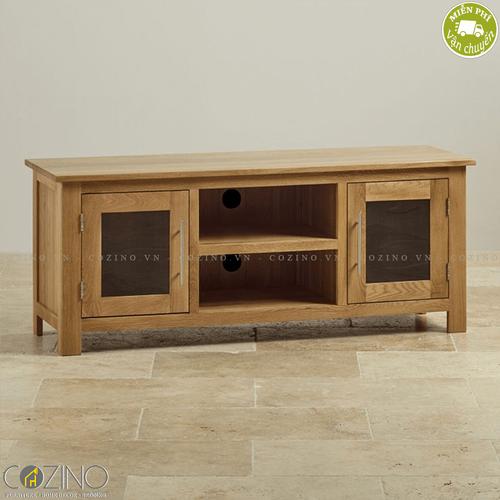 Tủ tivi lớn Kintai gỗ sồi- đẹp, giá rẻ tại hcm và hà nội